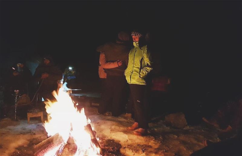 Nights like these are essential 🔥📸: @ghassanbhaniny ..... camping ... (Qanat Bakish, Mont-Liban, Lebanon)