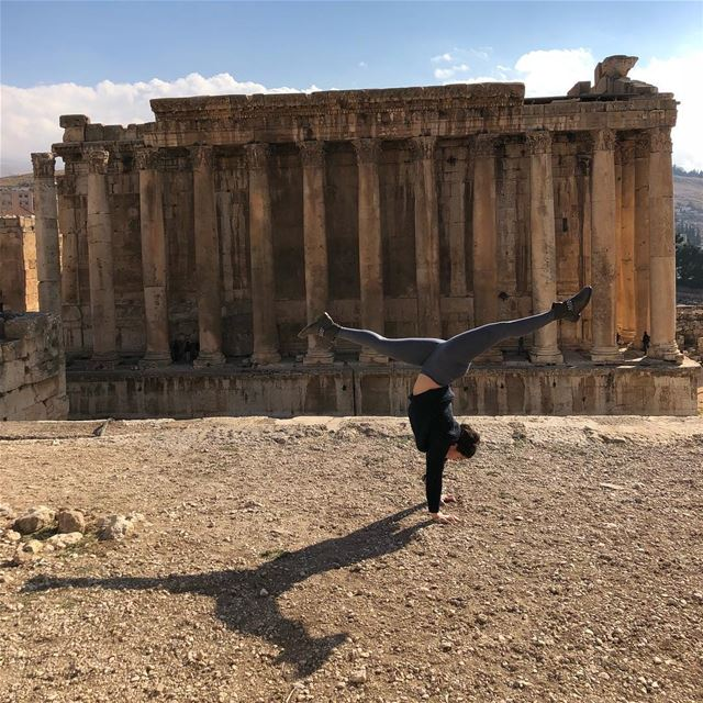 Yogis here's my schedule for this week. Keep practicing 🧘🏻‍♀️📿🙏🏼⭐️... (Baalbek, Lebanon)