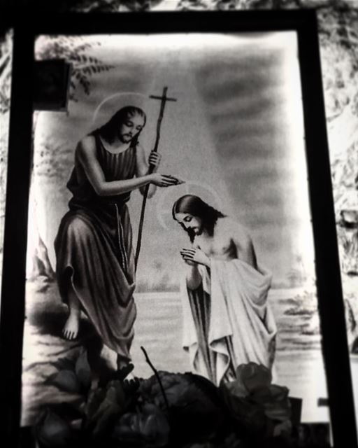 Jesus  religion  lebanon  blackandwhitephoto  shooting  preproduction ... (دير مار انطونيس قزحيا وادي القدسين)
