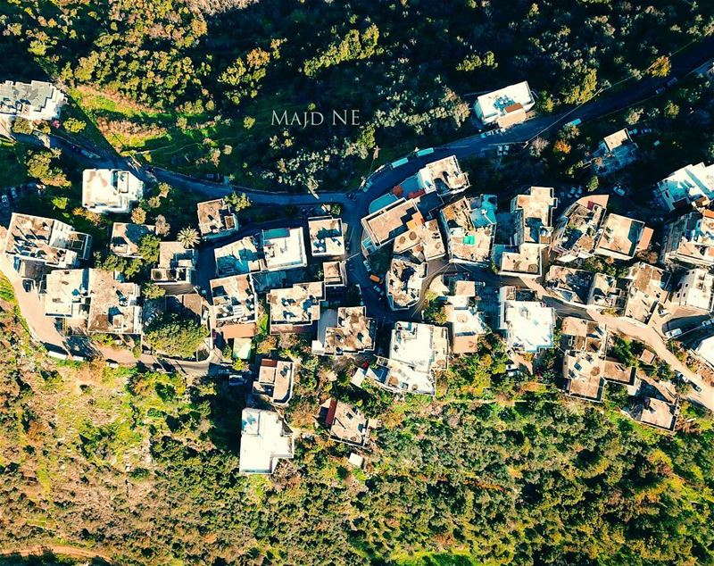 Have a blessed Wednesday.... photography  mavicpro  lebanon  drone ... (Aley District)