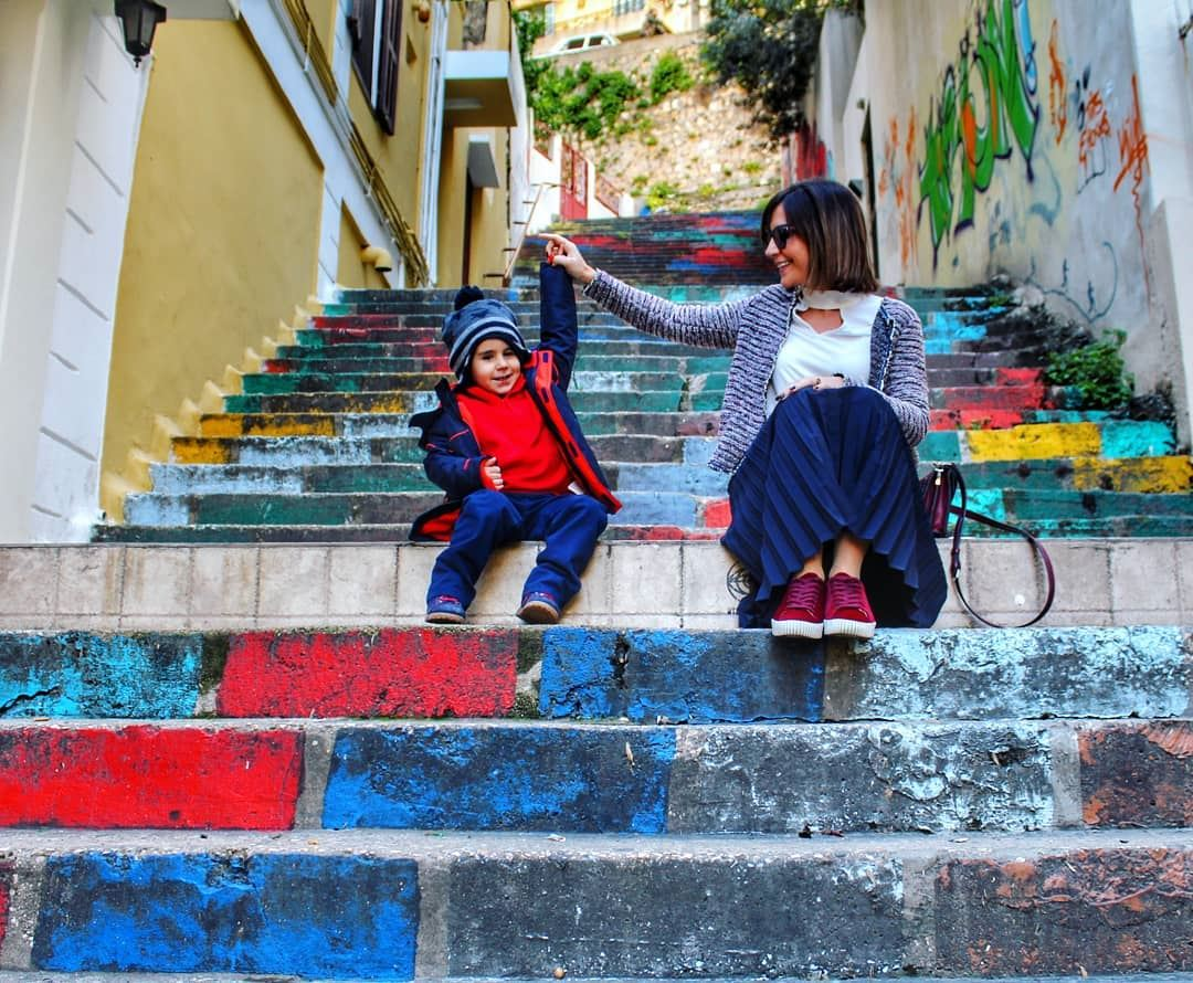 🎡 funmoments  lifeincolors.......... marmikhael  lebanon ... (Trainstation Mar Mikhaël)