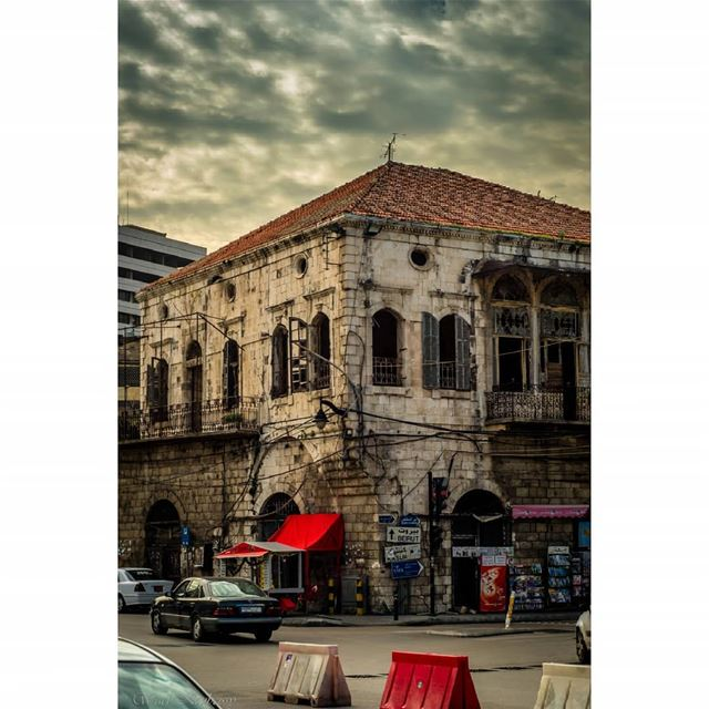 jounieh  street  city  lebanon  cars  old  house  ig_lebanon  lebanon_hdr... (جونية - Jounieh)