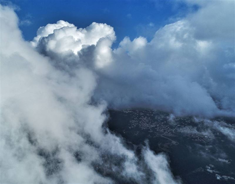 It's always clear above the clouds.... AboveLebanon  Lebanon ... (Beirut, Lebanon)