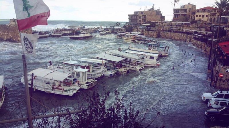 Earlier this morning  byblos port in the heart of the ... (Byblos)