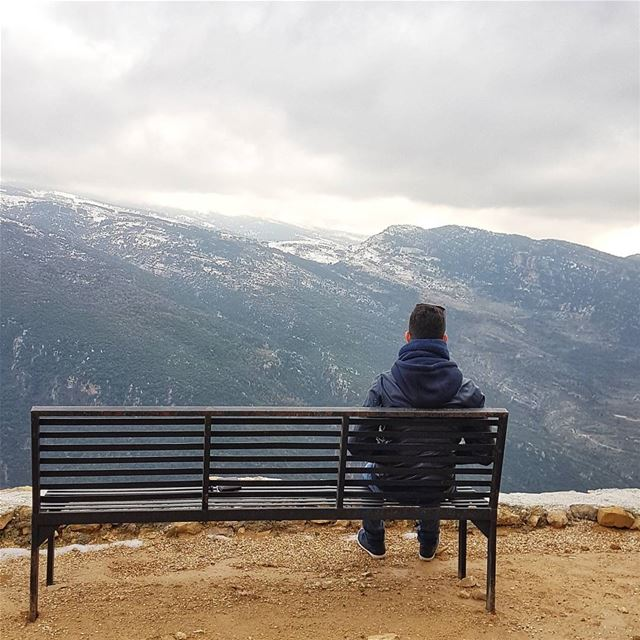 Remember the days you prayed for the things you have now🗻... (Aïtou, Liban-Nord, Lebanon)