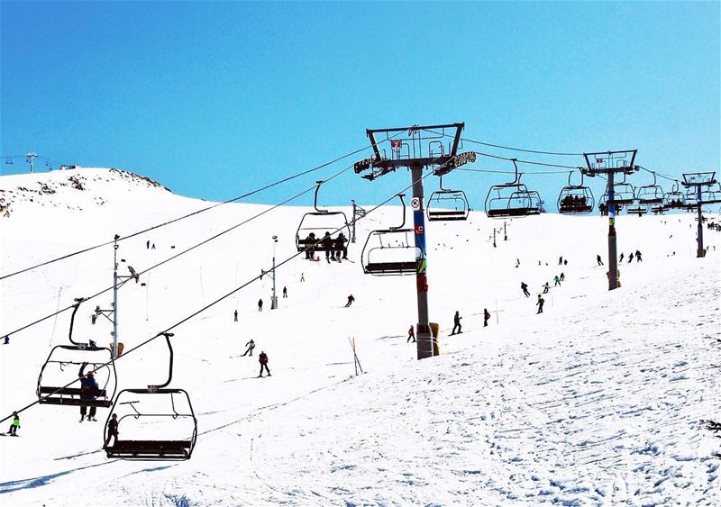 🎿 enjoy your day 🗻 (Mzaar Kfardebian)