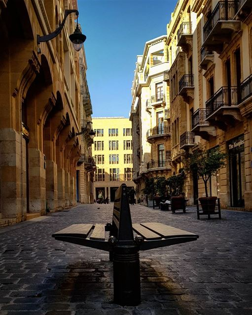 There is Too Much in Emptiness..🍃🍃🍃🍃🍃 dontjudge... downtown... (Downtown Beirut)