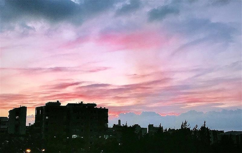 Cotton candy sunsets.💜 sunset  sunsets_captures  sunsetlovers ...