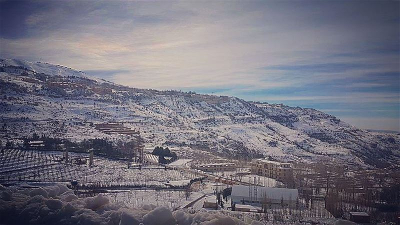 """One small positive thought in the morning can change your whole day""... (Faraya, Mont-Liban, Lebanon)"