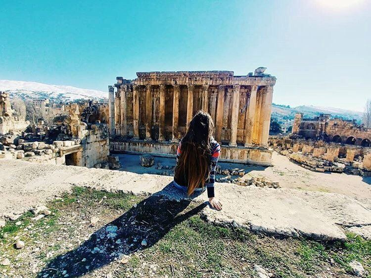 Baalbeck, Lebanon. I don't know about you 😊📷 @yesterday.t  Baalbeck... (Baalbek , Roman Temple , Lebanon)