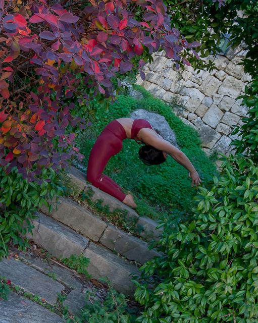 Kapotasana - if you can learn to find comfort in this position and breathe,