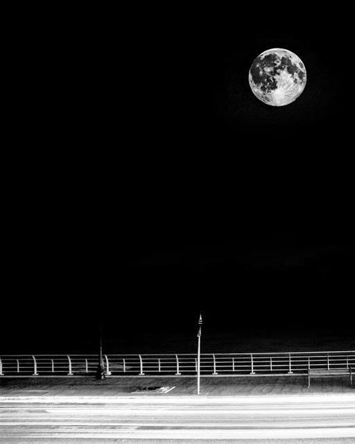 Moonlight... (Beirut, Lebanon)