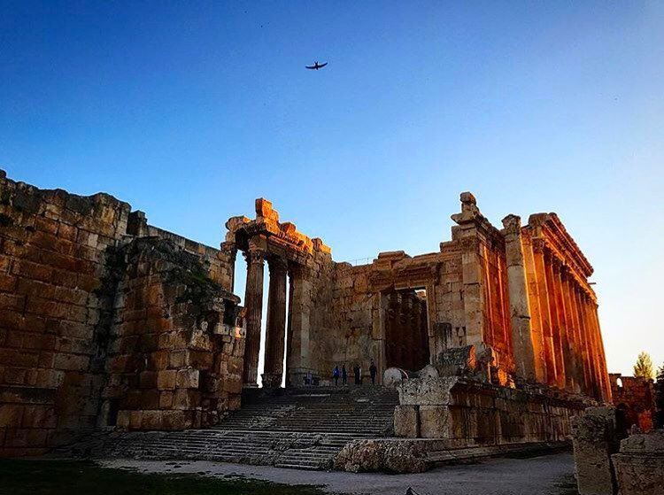 Temple of Bacchus 🏛📷 @odinleb  Baalbeck Temples Castle Proud... (Temple of Bacchus)