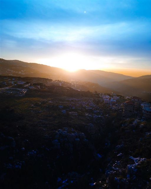 It's almost impossible to watch a sunset and not dream........ (El Qalaa, Mont-Liban, Lebanon)