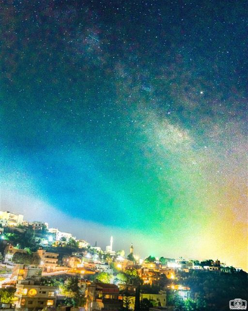 The milky way From Houmine Al Fawka stars  astronomy  milkyway  lebanon ...