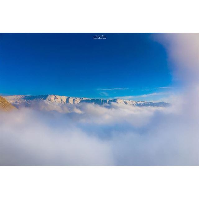 ehden  snow  sky  fog  clouds  livelovelebanon  beautifullebanon ...