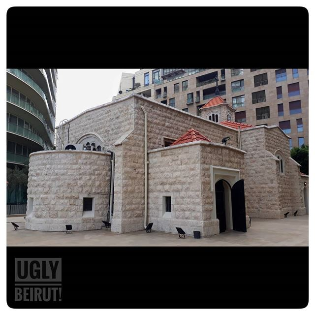 🇱🇧 All saints church beirut.... uglybeirut  uglycity  cityview... (All Saints Church International Congregation)