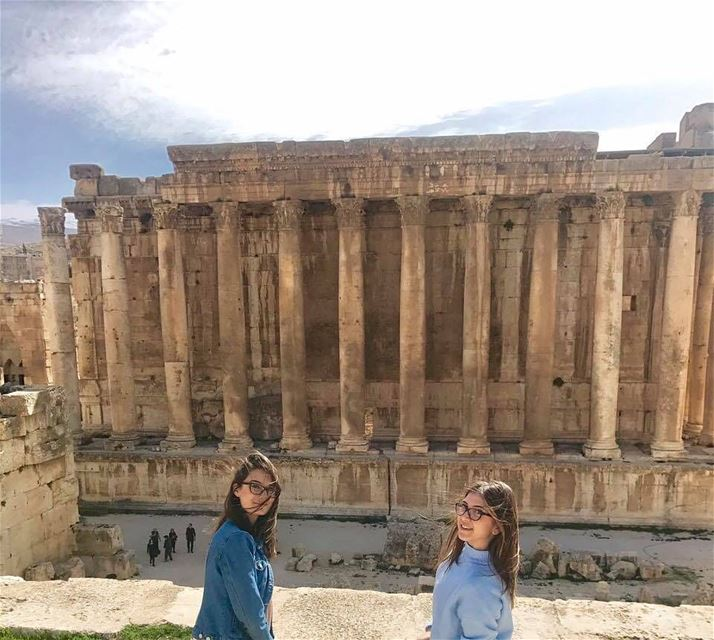 Don't miss a visit to Baalbeck 🏛📷 @anassya_raad  Baalbeck Temples... (Temple of Bacchus)