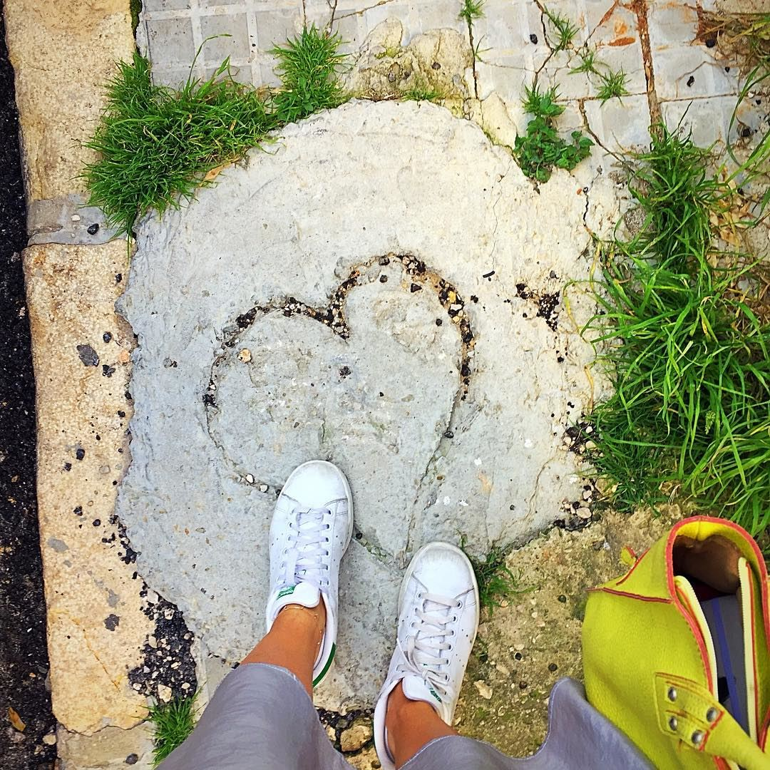 Please do not leave your heart on the floor! Someone might step on it 😱 :: (Beirut, Lebanon)