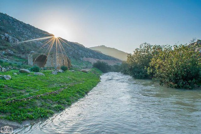 Good morning 🌞 nature  river  old  oldmill  sun  sunrise  lebanon ...