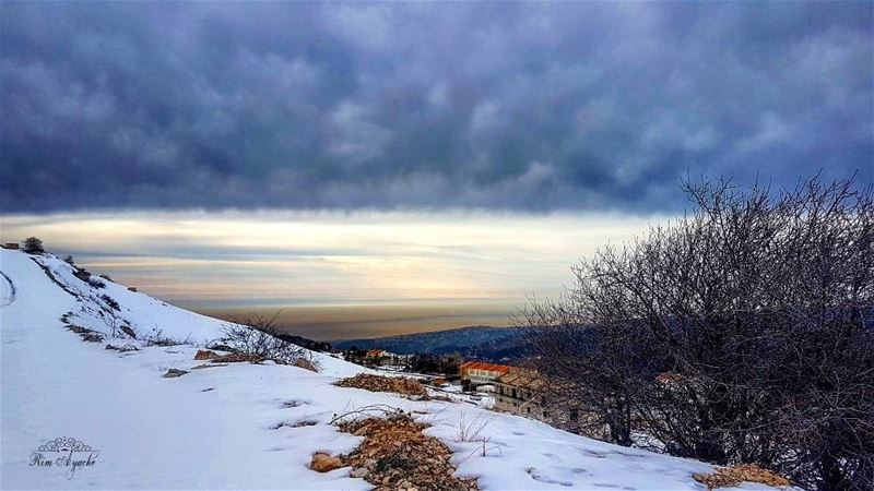 Be like Snow...Cold, but Beautiful.❄☃ lebanoninstagram  landscape ... (Zaarour Club)