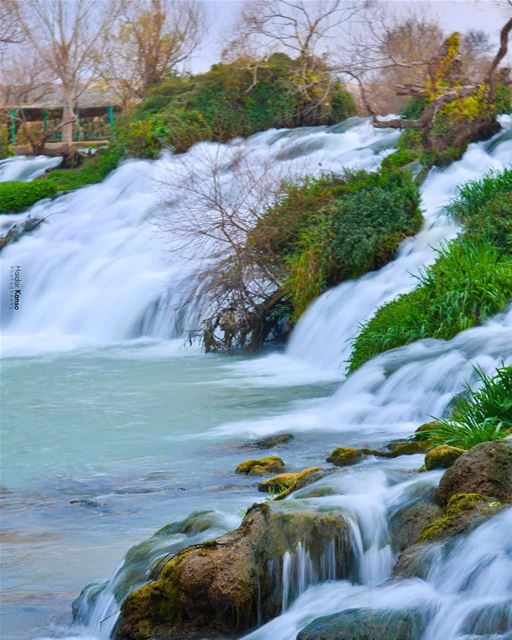 Time is like a river...You cannot touch the same water twice, because the... (El Hermel, Béqaa, Lebanon)