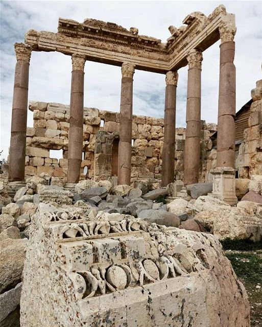 Next time you think of beautiful things, don't forget to count yourself in... (Baalbek , Roman Temple , Lebanon)