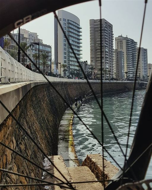 The spinning Wheel of Life Never Stops Giving Us the Chance to Restart... (Beirut, Lebanon)