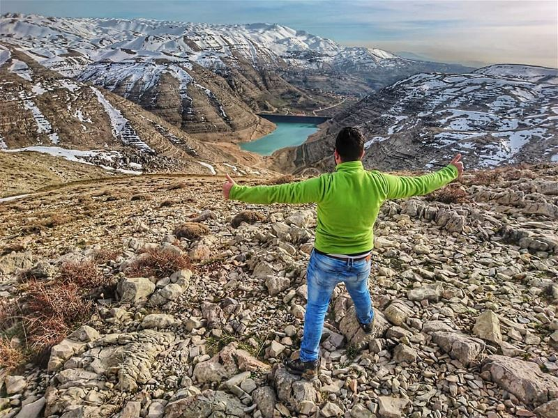 The secret of happiness is freedom The secret of freedom is courage... (Faraya, Mont-Liban, Lebanon)