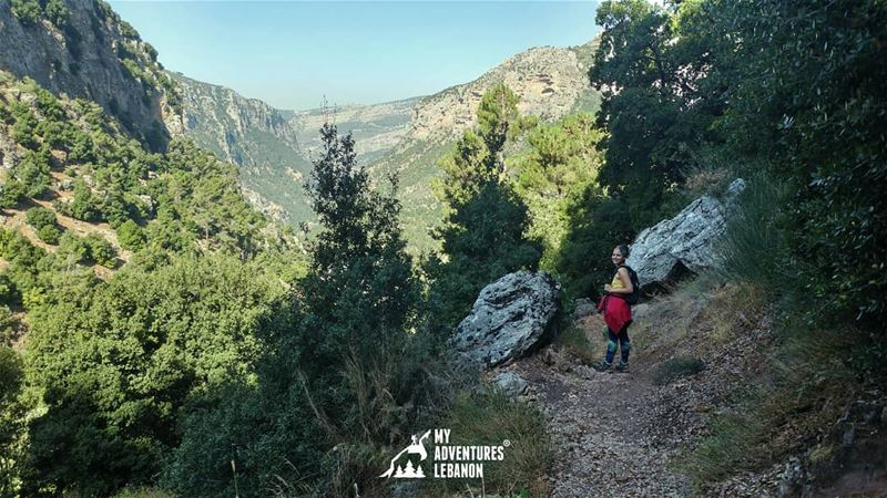 The magical Wadi Qannoubine 🍃Join us for a hike there on March 18🚶For... (Kadisha Valley)