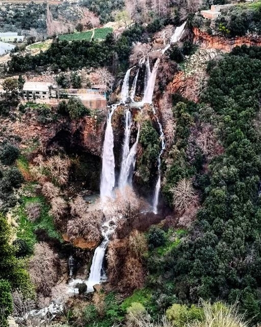 Kfarhilda  Waterfall  NaherElJoz one of the biggest and longest... (nahr-kfarhelda)