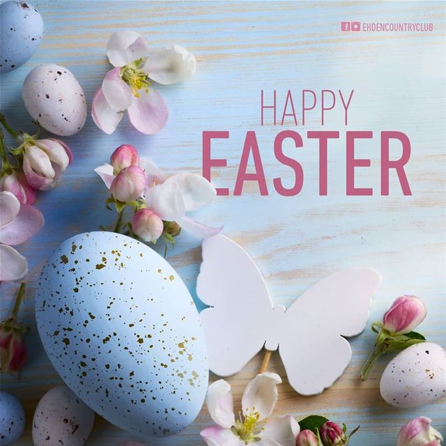 Wishing you all a Happy Easter!  ehden  ehdencountryclub  resort ... (Ehden Country Club)
