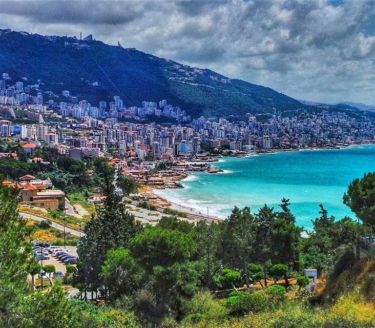 The beautiful bay of Jounieh  jounieh  bay  beautiful  livelovejounieh ... (Jounieh)
