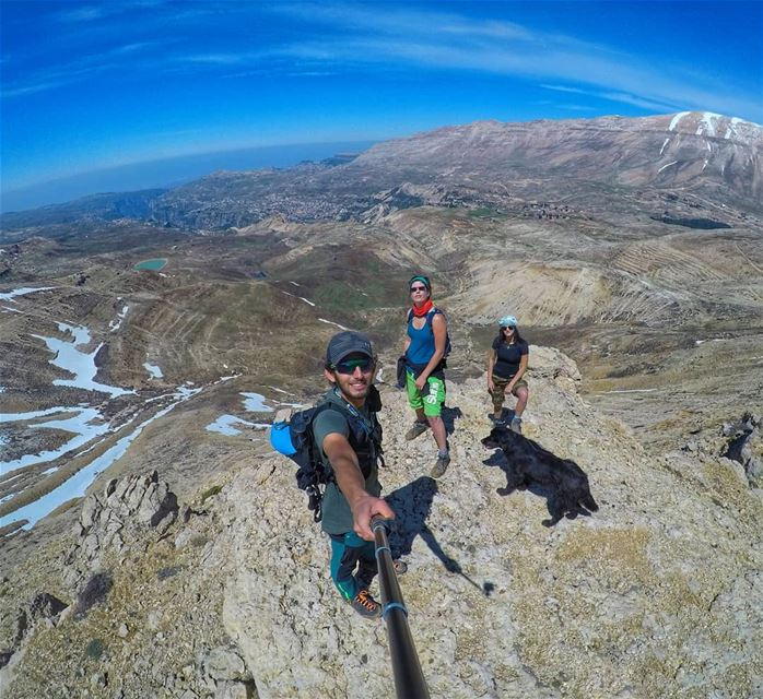 Life is better in hiking boots.⛰️🚶🏻 thenorthface  mikesport  gopro ... (Cedars of God)