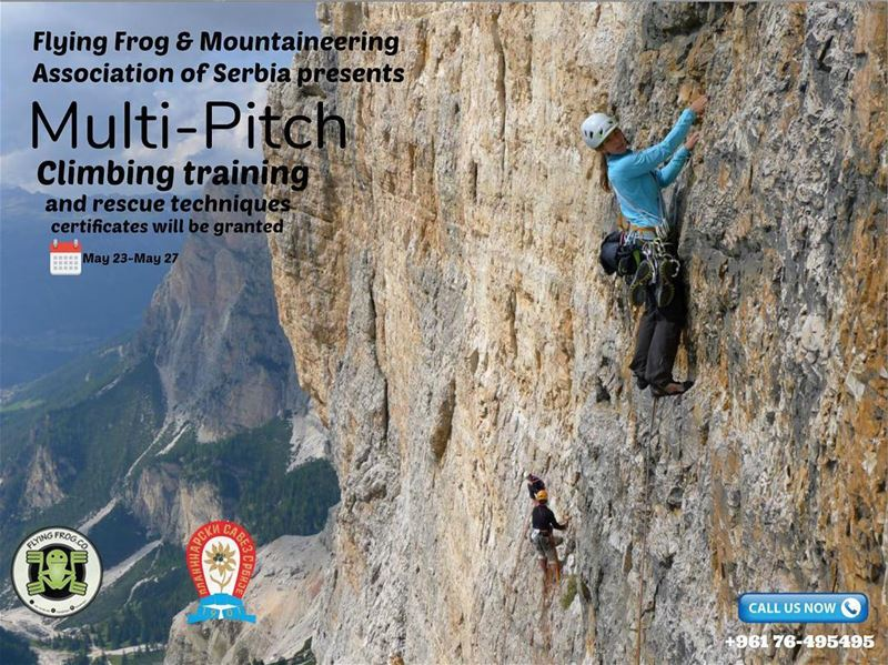 For the first time in Lebanon, and in collaboration with Mountaineering...