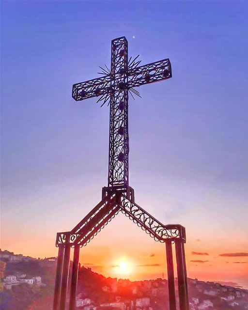 Beyond the Shadow of the Cross..He Lives...He is not here..HE has Risen..... (Beït Chabâb, Mont-Liban, Lebanon)