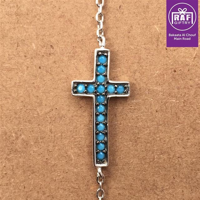 Peace 🙏 raf_giftry......... bracelet  cross  silver  gift ... (Raf Giftry)