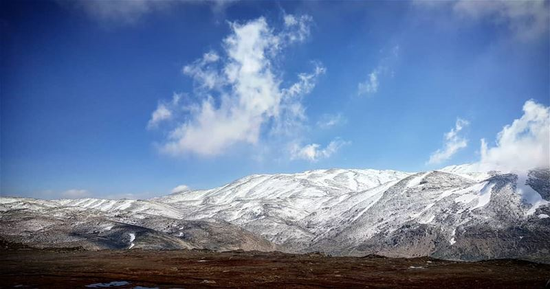 april  snow  lebanon  kfardebian  sunny  day  photography  sky  view ...