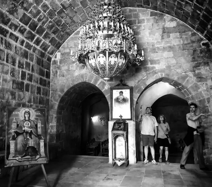 The church -  ichalhoub was in Agia Napa  Cyprus shooting with a mobile...