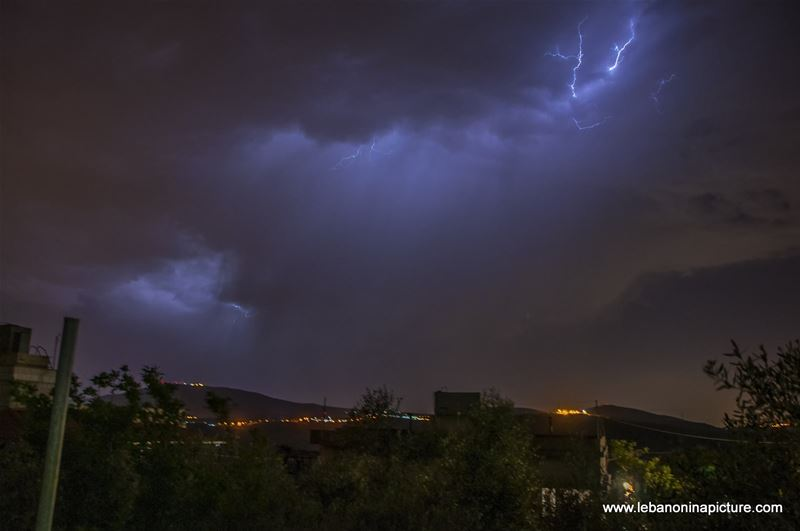 Lighting Strikes at the Eastern Easter Holiday (Yaroun, South Lebanon)