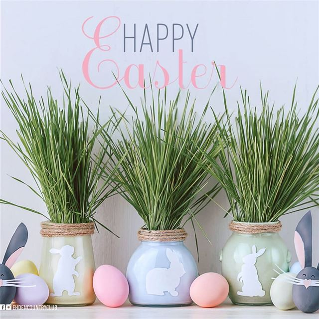 Happy Easter!  ehden  ehdencountryclub  resort  Hotel  restaurant ... (Ehden Country Club)