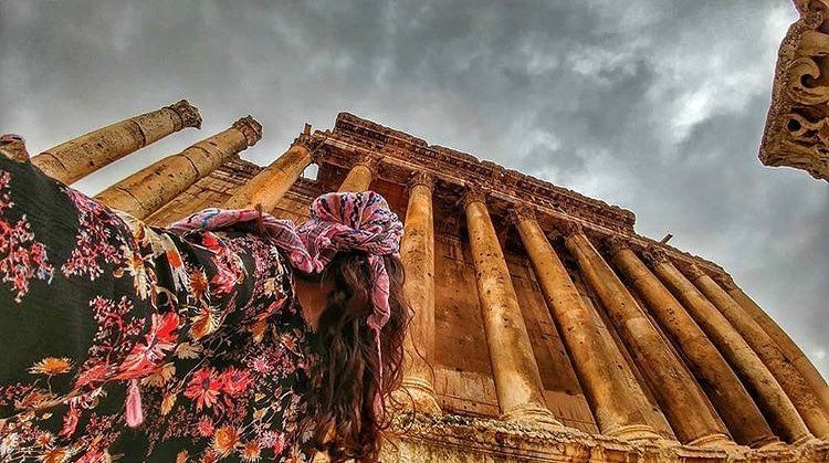 Keep your head high ! It's Baalbeck 😍😍😍📷 @ranim_ghass  Baalbeck... (Baalbek, Lebanon)