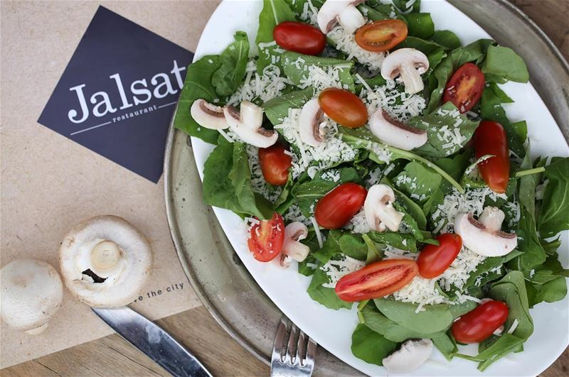 Enjoy the  fresh  weather with a  fresh  rocca  salad 😍  jalsat ... (Jalsat)