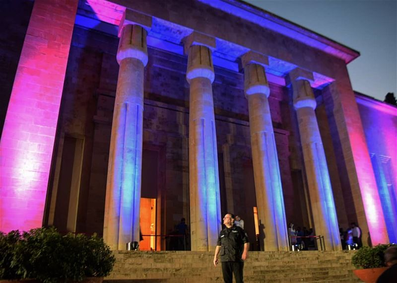 lanuitdesmusees  2018  lebanese  national  museum  color  night  nikon ... (National Museum of Beirut)