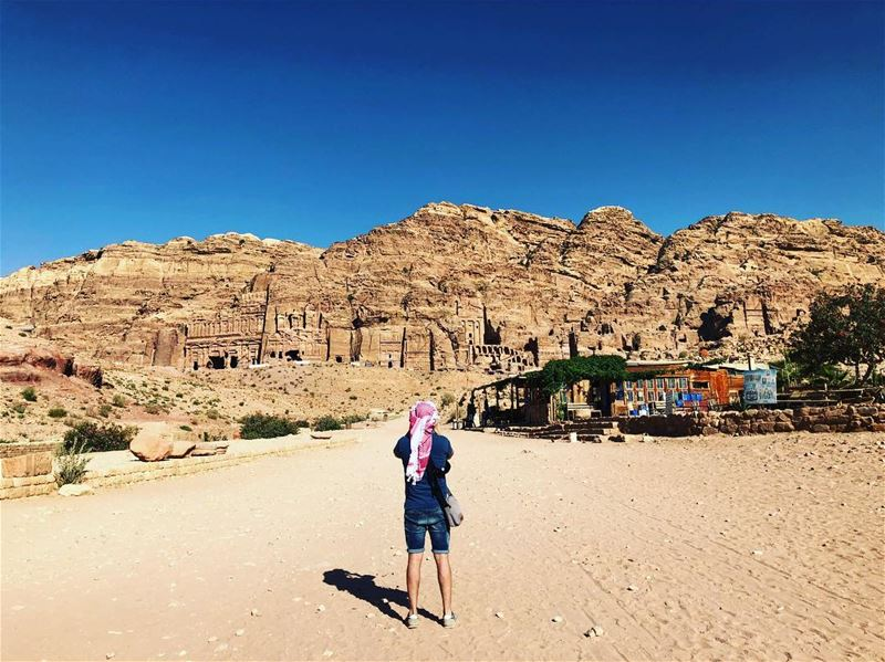 Lost Myself Somewhere 🇯🇴 . pictureoftheday  photooftheday  photographer... (Petra, Ma`An, Jordan)