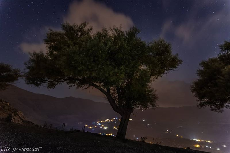 Silenced by the night.. night  photography  sigmaart  picture ... (Baskinta, Lebanon)