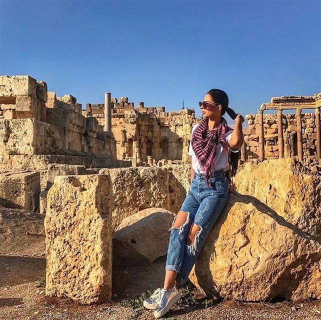 Wish you a Good Morning from Baalbeck 😍😍😍📷 @vannabojovic  Baalbeck... (Baalbek, Lebanon)