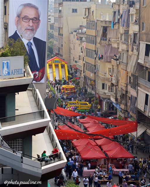 Celebrating the Armenian Culture in Bourj Hammoud 😍  followforfollow ... (Souk el Akel)