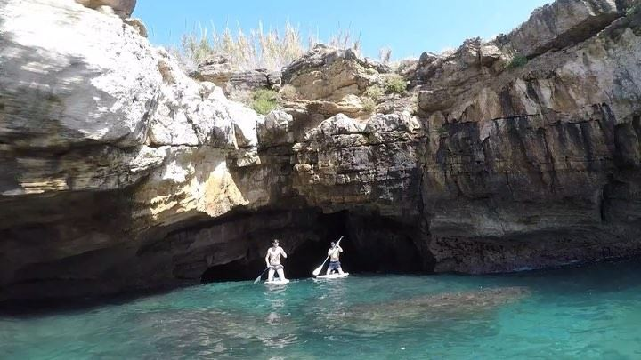 Caves and rock climbing adventure/ tour with Mo & StephanEvery paddle out... (Hâlâte, Mont-Liban, Lebanon)