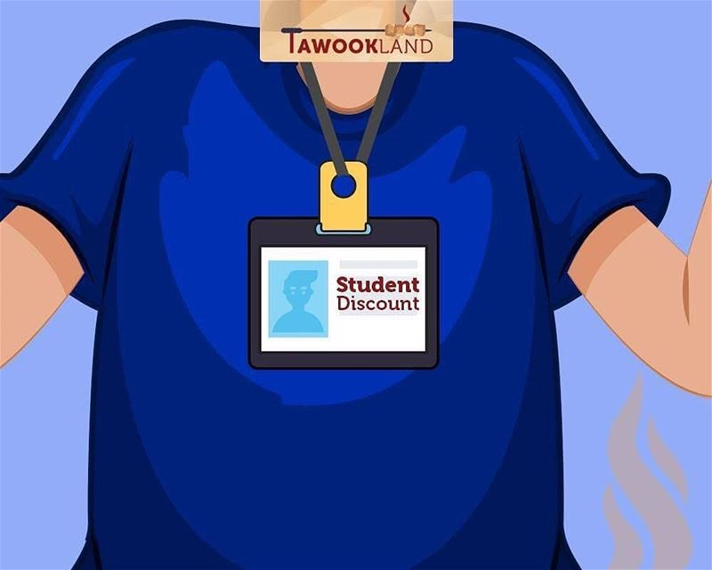 @tawookland -  Present your Student ID and get 10% off the total bill!... (Tawookland)